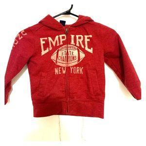 🎈 Baby Gap fleece hoodie size 4t 🎈
